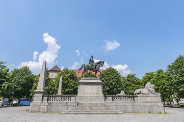 Wilhelm von Rumann in Stuttgart, Germany
