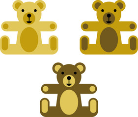 vectorized teddy bears