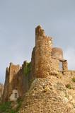 Castillo de la sierra del Montseny. Catalunya poster