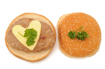 hamburger love