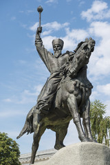 Monument to Hetman Sahaidachny in Kiev
