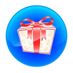 Gift icon 2 white box