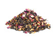 Elite green tea with candied fruit and rose petals