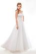 Newlywed beautiful woman in wedding dress - wedding style