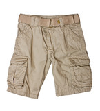 Children's wear - kid shorts isolated over white background