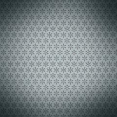 Christmas geometric pattern on gray wallpaper. Simple winter bac