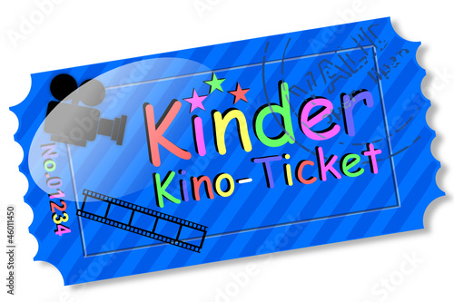 Ticket - Kinder Kino-Ticket