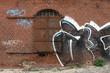 Haus in Brandenburg a.d. Havel mit Graffiti