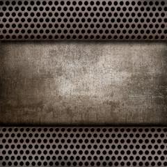 metallo e cemento vintage