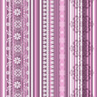 Seamless striped pink pattern