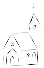Little Church - Simple Sketch