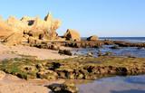 Western Algarve beach scenario, Portugal poster