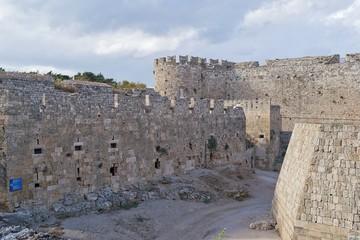 La città vecchia di Rodi- Grecia