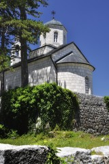 Ancient church in Cetinje, Montenegro