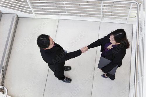 Business Team Handshake