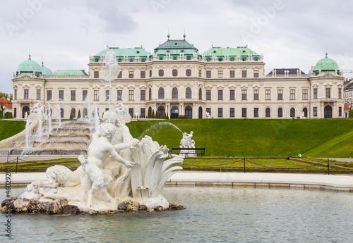 Belvedere palace Vienna Austria