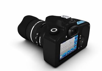 Digitale Spiegelreflexkamera 360° Ansichten - Bild 5 von 9