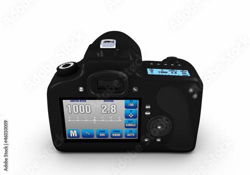Digitale Spiegelreflexkamera 360° Ansichten - Bild 4 von 9