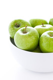green granny smith apples