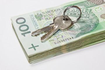 Pieniądze i klucze