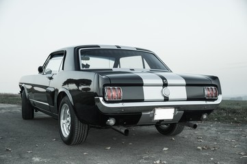 Ford Mustang Retro Look