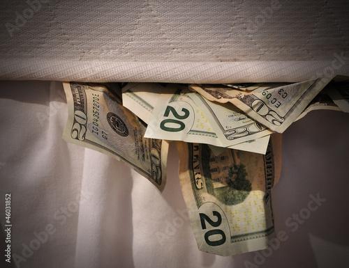 Hiding Money in Mattress