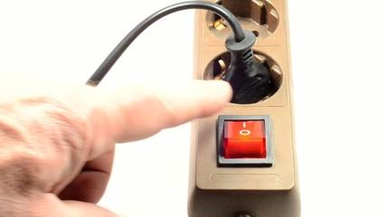 Energiesparen: Abschalten einer Steckdosenleiste