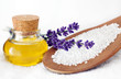 Wellness Peeling | Salz Lavendel Öl | Entspannen im Badezimmer