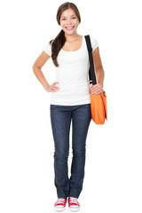 College university student woman
