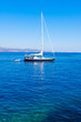 Sailing boat at Greek Island