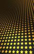 Sternen Matrix Hintergrund - gold schwarz 14