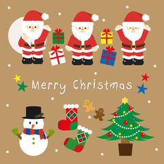 クリスマスのイラスト