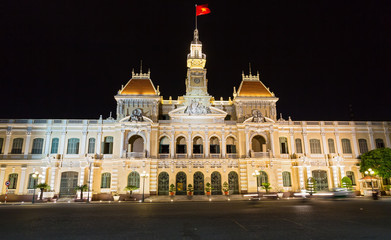 The City Hall of Ho Chi Minh