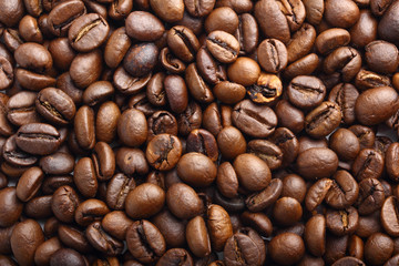 coffee beans as coffee background