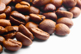 coffee beans as corner background