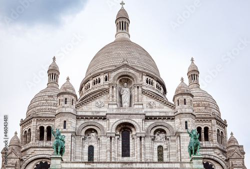 Sacre Couer Basilica in Paris
