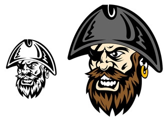 Angry corsair captain