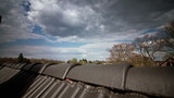 Roof with Clouds Timelapse