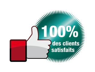 100 % des clients satisfaits
