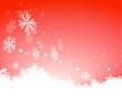 Schneeflocken, Hintergrund, Weihnachten