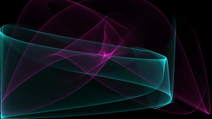 abstract color waves animated background