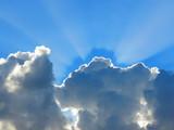 Fototapety Soleil et nuage