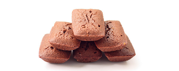 5 financiers au chocolat
