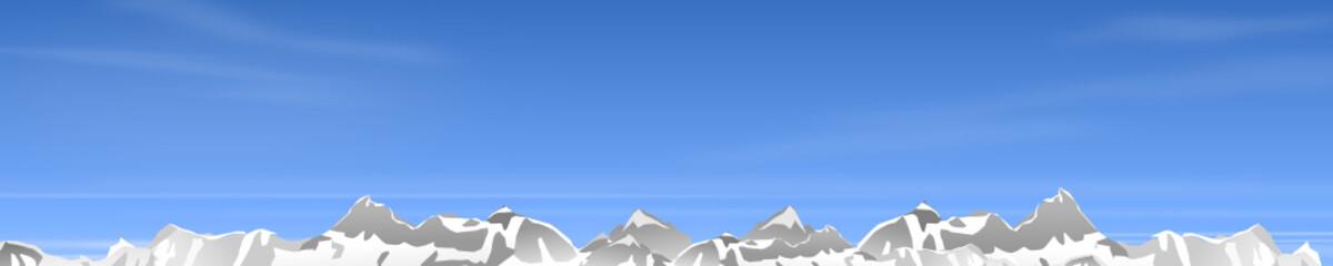 Berge Winter