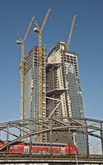 Europäische Zentralbank im Bau