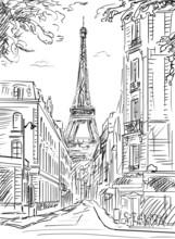 Rue de Paris - illustration