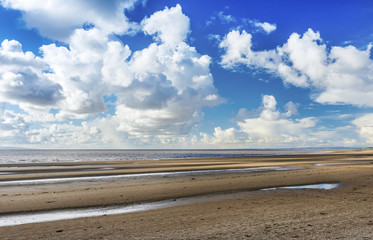 Burnham on Sea Beach, North Somerset, England