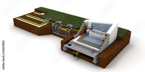 Home sewage system