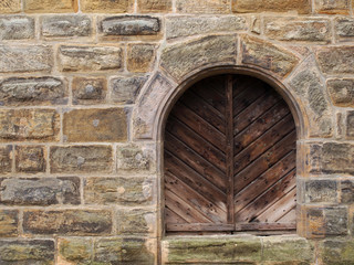 Historisches Holztor in Bamberg