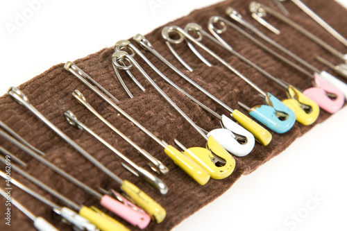 Very old safety pins